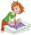 Уход за половыми органами новорожденных