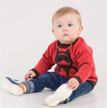 Свитер для малыша ТМ Lutik красный
