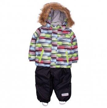Термокомплект для мальчика Joiks, возраст от 9 месяцев до 3 лет, рисунок - черный