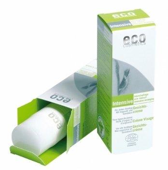 Интенсивный крем для зрелой кожи, Eco Cosmetics,  с маслом аргании и облепихой, 100мл, 72226