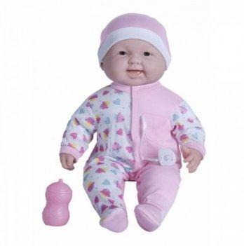 Пупс-великан JC Toys, Весельчак в розовой шапочке, мягкий, 51 см