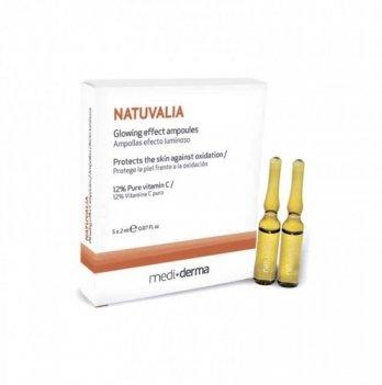 Сыворотка для кожи Sesderma Внутреннее сияние Natuvalia, 5 х 2 мл