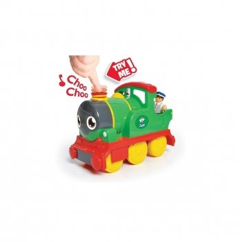 Паровоз с вагоном Сэм Wow toys