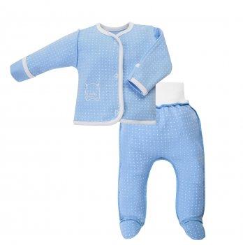 Комплект детский интерлок SeeYou 000000011 сине-белый