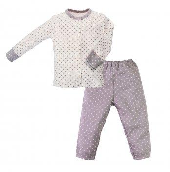 Пижама интерлок SeeYou 000000013 бежево-серый