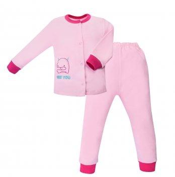 Пижама детская интерлок SeeYou 000000014 розовый