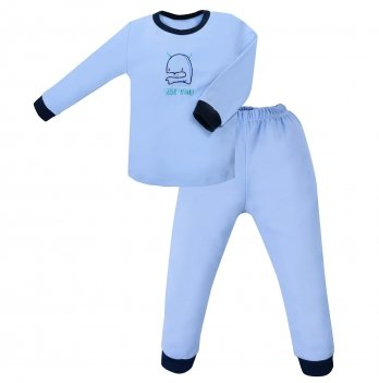 Пижама детская интерлок SeeYou 000000014 синий