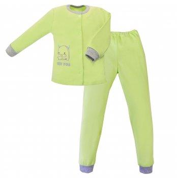 Пижама детская интерлок SeeYou 000000014 зеленый