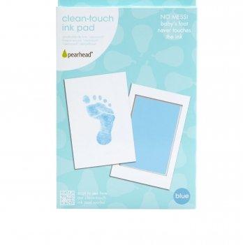 Подарочная подушечка для чернильного отпечатка Pearhead, голубой