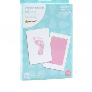 Подарочная подушечка для чернильного отпечатка Pearhead, розовый