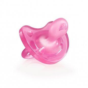 Пустышка Physio Soft силикон 6-16 m Chicco 02712.11.00.00 розовый