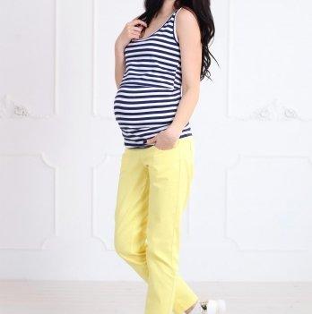 Майка Simple для беременных и кормящих, Znana, полоска