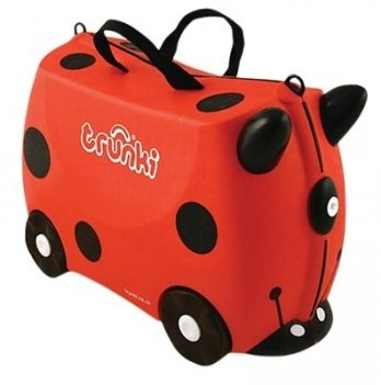 Детский чемодан на колесах Trunki Harley