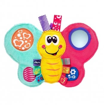 Мягкая развивающая игрушка Chicco Бабочка Дейзи
