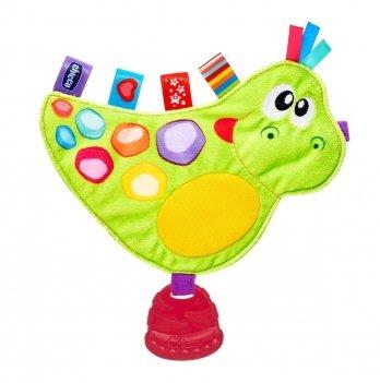 Мягкая развивающая игрушка Chicco Динозаврик Дино