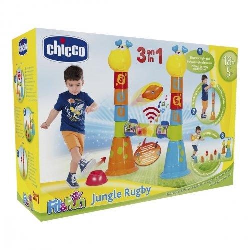 Игровой центр 3-в-1 Chicco Jungle Rugby