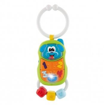 Игрушка-погремушка Chicco Puppy Phone 09708.00