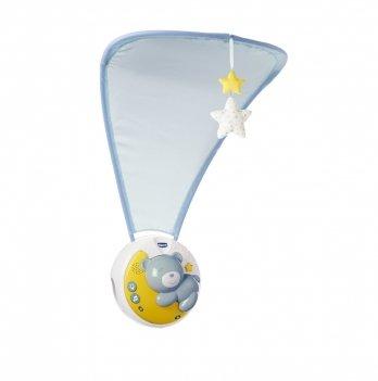 Игрушка на кроватку 3 в 1 Chicco Next 2 Moon Голубой 09828.20
