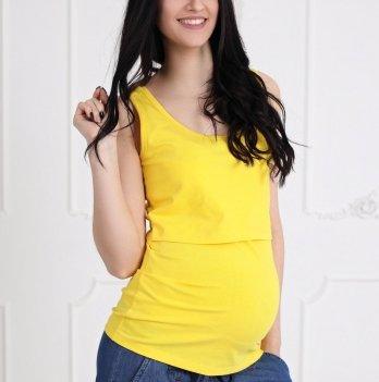 Майка для беременных и кормящих Znana Simple Желтый