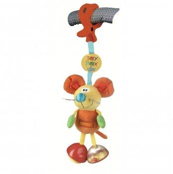 Игрушка-подвеска Playgro, Мышка, 010114104