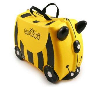 Детский чемодан на колесах Trunki Bernard Bumble Bee
