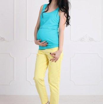 Майка Simple для беременных и кормящих, ZNANA, мята