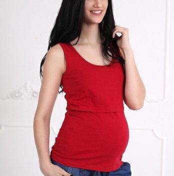 Майка для беременных и кормящих Znana Simple Вишневый