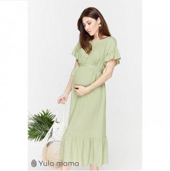 Платье для беременных и кормящих мам MySecret Zanzibar DR-29.081 светло-зеленый