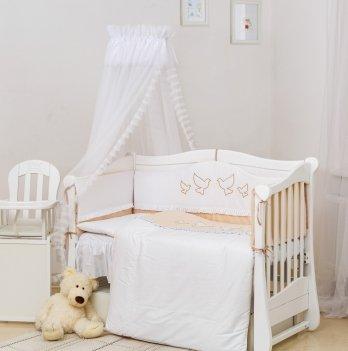 Комплект постельного белья Twins Romantic Dove R-005 Бежевый 8 предметов