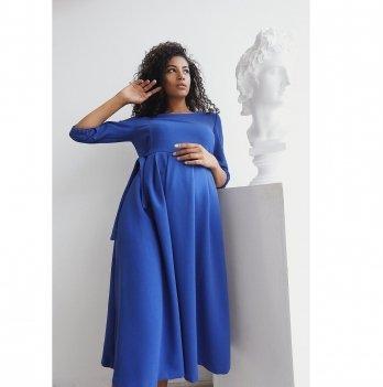 Платье для беременных To Be Синий 0308206