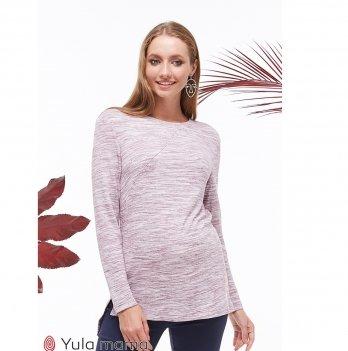 Туника для беременных и кормящих MySecret Kim TN-39.022 вишневый меланж