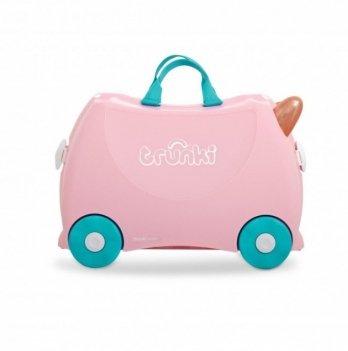 Детский чемодан для путешествий Flossi Flamingo Trunki 0353-GB01