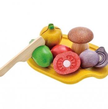 Деревянная игрушка PlanToys® Овощное ассорти