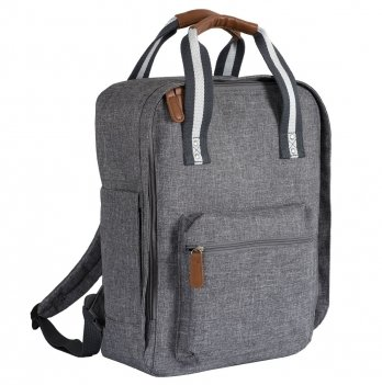 Сумка-рюкзак для мам Chicco Gray Melange Серый 090.46274.095