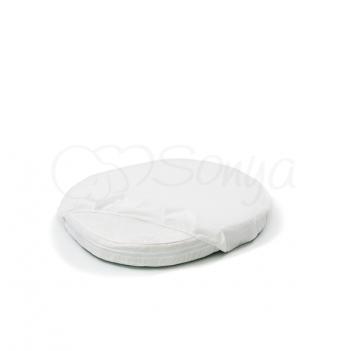 Наматрасник непромокаемый в овальную кроватку  Маленькая Соня 760032 60х70 см