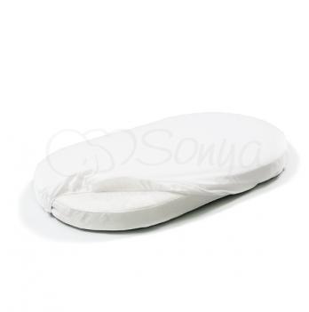 Наматрасник непромокаемый в овальную кроватку Маленькая Соня 790032 60х120 см