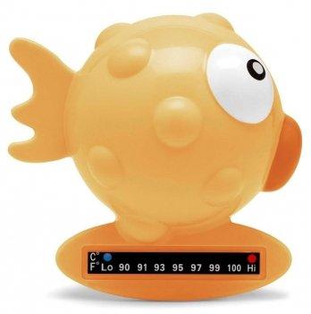 Термометр для ванной Рыбка Chicco 06564.00 оранжевый