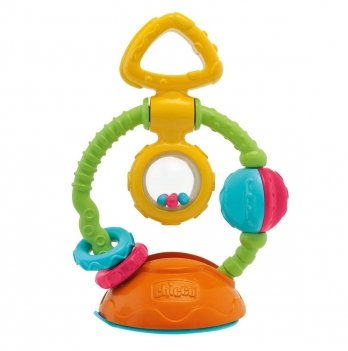 Игрушка-погремушка на присоске Touch & Spin Chicco 69029.00