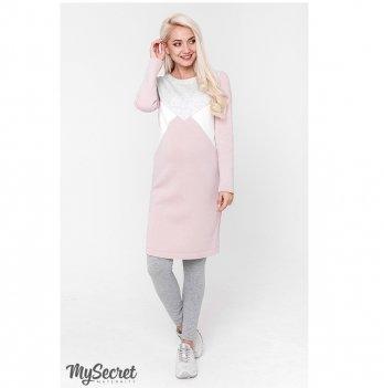 Лосины для беременных MySecret Hilla new 12.39.022 серый меланж