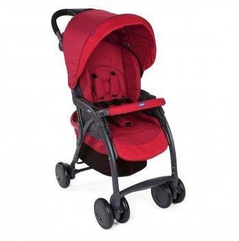 Прогулочная коляска Simplicity Complete Chicco 79116.30 красный