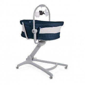 Кроватка-стульчик Chicco Baby Hug Air 4 в 1 Синий 79193.39.00