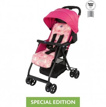 Прогулочная коляска Chicco Ohlala 2 Pink Swan Розовый 79472.66