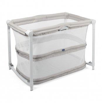 Кроватка-манеж Chicco Zip&Go Серый 79554.21