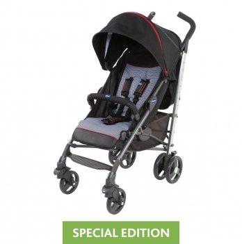 Прогулочная коляска Chicco Lite Way 3 Top Stroller Special Edition Черный 79599.35