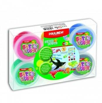 Масса для лепки Paulinda 81193 6 Цветов