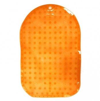 Коврик для ванной BabyOno детский, противоскользящий, 70 х 35 см оранжевый