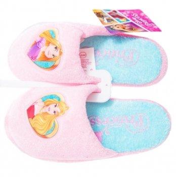 Тапочки-шлепанцы Disney Холодное сердце нежно-розовые