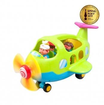 Игровой набор Самолет-путешественник Kiddieland 056895