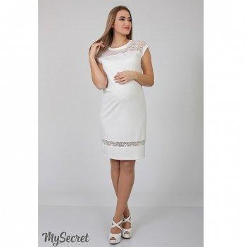 Платье-футляр для беременных MySecret Vesta DR-36.263 молоко