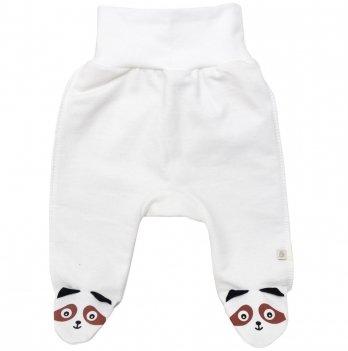 Ползунки для новорожденных  Minikin Крошка Енот, молочные